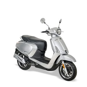 Kymco New Like mat zilver