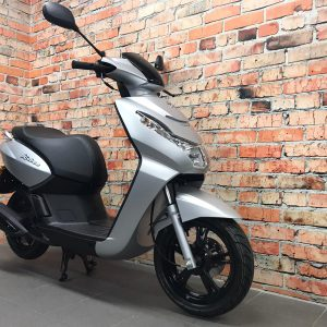 Peugeot Kisbee active satin flash silver